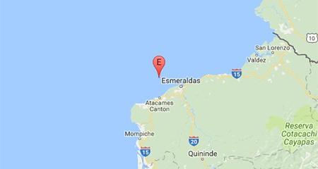 Más de 5 sismos se registraron esta madrugada en Esmeraldas