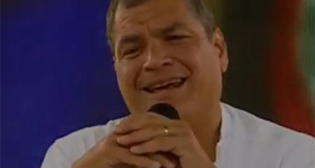 Correa dice que la comunidad Nankints es un invento (Video)