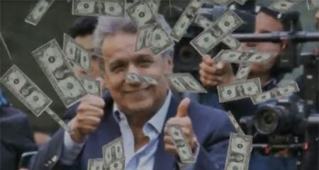 Presentan pruebas que Lenin Moreno habría cobrado 10 mil dólares por conferencias