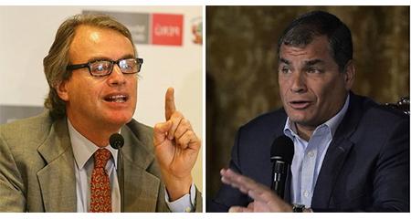 Ministro del Interior peruano responde a Correa diciéndole que «en Perú las leyes se respetan»