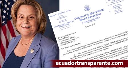 Congresista estadounidense dice que no se puede confiar en el régimen corrupto de Correa