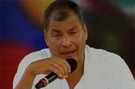 Correa planeaba «canjear» a CAPACO por un asesino pedido por Estados Unidos