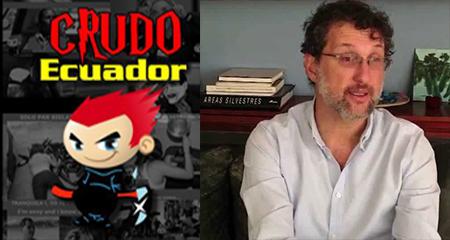 Amenazan a Crudo Ecuador y a periodista Martín Pallares