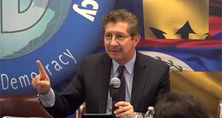 Dr. Carlos Sánchez Berzaín dice que Gobierno ecuatoriano «ha movido todo...tratando de evitar que se conozcan nombres de Odebrecht» (Video)