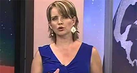 Periodista Janet Hinostroza recibe un sobre bomba en Teleamazonas