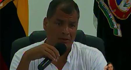 Correa dice que proyecto de autos eléctricos de Yachay cuenta con el apoyo de Hewlett Packard. HP lo desmiente