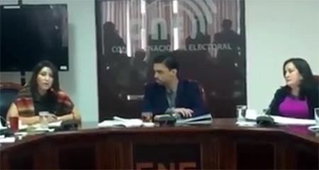 Vicepresidenta del CNE dice que no hay resultados oficiales de las elecciones todavía (Video)
