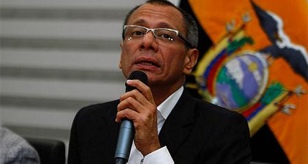 Jorge Glas presentó denuncia en Fiscalía contra diario Expreso, por supuestas calumnias