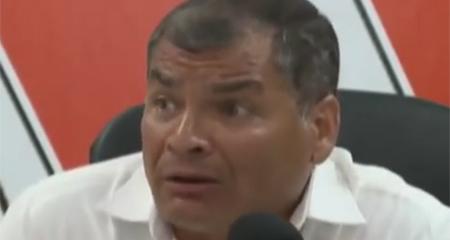 Correa asegura que si gana Lasso, tendrá que quedarse a defender lo logrado