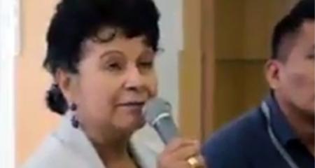 Prima hermana de Lenin Moreno dice que no votará por él, sino por Guillermo Lasso (Video)