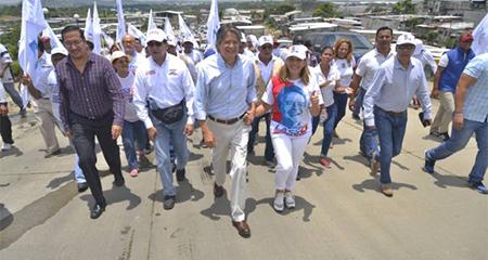 Guillermo Lasso busca que corruptos devuelvan dinero público