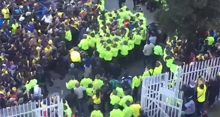 Una entidad del Estado compró las entradas de los posibles agresores Guillermo Lasso