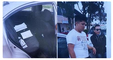 En Ibarra, detienen vehículo con papeletas supuestamente marcadas a favor de Lenin Moreno
