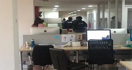 Policía allanó oficinas del director de comunicación de CREO
