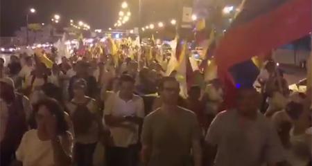 Miles de ciudadanos salen a las calles en protesta por el fraude y piden reconteo de votos