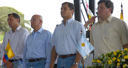 La mentira de Correa sobre Mosquera no duró ni 48 horas