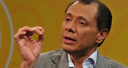 Glas acusa a Lasso de corrupción y lo desafía a debatir