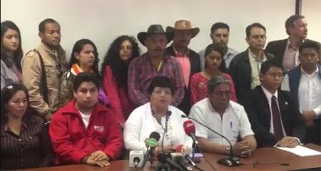 Supuestas organizaciones sociales apoyan visita de Maduro al Ecuador. Piden deportar a venezolanos que protesten