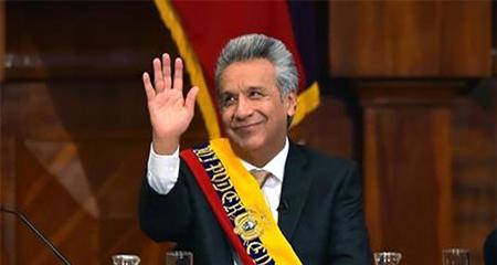 Lenin Moreno anuncia que realizará rendición de cuentas en televisión todos los lunes