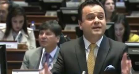 71 Asambleístas votaron en contra de rechazar el indulto a Antonio Buñay implicado en caso Duzac