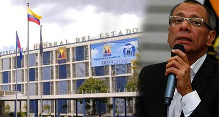 Fiscalía suspendió presentación de Jorge Glas