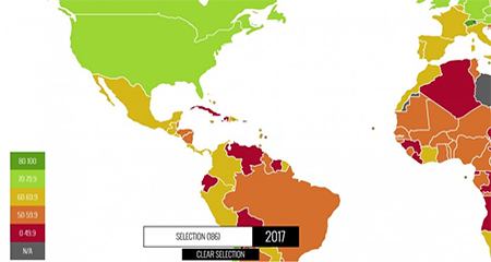 Correa deja a Ecuador como uno de los países con menos libertad económica