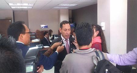 Crnl. Carrión presenta demanda de inconstitucionalidad ante la creación de cuerpos armados del Servicio de Protección Pública
