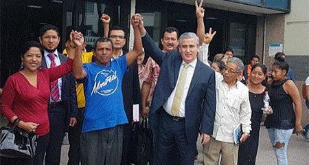 Declaran inocente a Francisco Sampedro enjuiciado por transportar un borrego