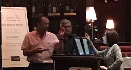 Excontralor Carlos Pólit, quien afirmó estar mal del corazón fue fotografiado en restaurant en Miami