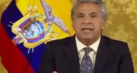 Lenin Moreno afirma que la situación económica del país es crítica