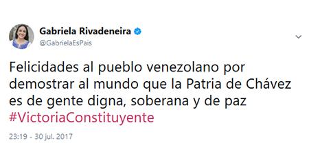 40 países democráticos desconocen la Asamblea Constituyente de Venezuela. Ecuador no es uno de ellos