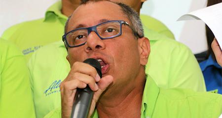 Delator de Odebrecht afirma haber pagado 14 millones de dólares a Jorge Glas