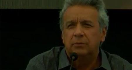 Lenin Moreno dice que él no quiso ser presidente a diferencia de otros que extrañan la presidencia (Video)