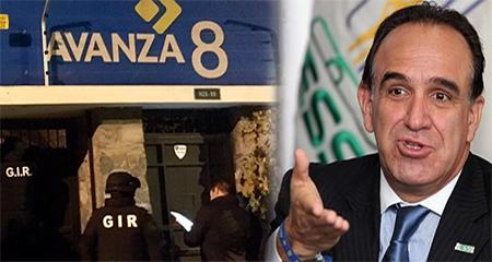Allanan sede de partido político AVANZA y casa de Ramiro Gónzález. Detienen a su esposa