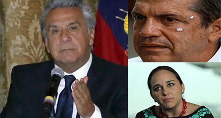 Lenin Moreno contradice a Patiño y Rivadeneira