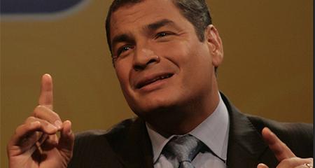 Correa preocupado por que lo «metan preso»