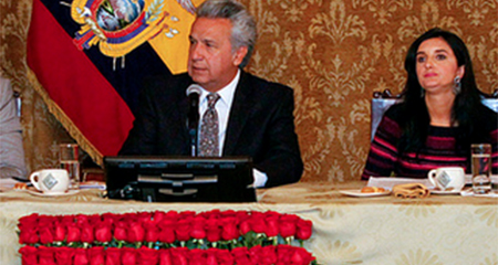 Lenin Moreno aifrma que ha pedido a abogados de la Presidencia asesoría por situación de Jorge Glas
