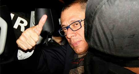 Jorge Glas el Vicepresidente sin funciones que tiene guardaespaldas y gana sueldo desde la cárcel