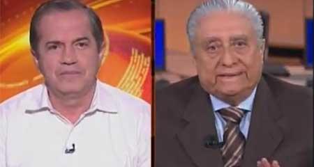 Enfrentamiento entre periodista de Alfredo Pinoargote y Ricardo Patiño
