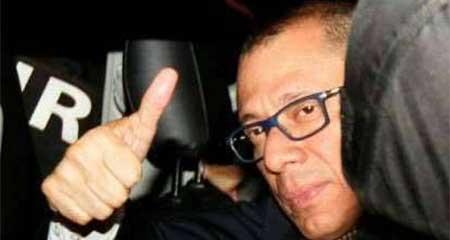 Piden a Contraloría que analice la legalidad del pago del sueldo a Vicepresidente Jorge Glas