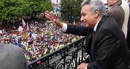 Moreno le dice a Correa que venga a Quito y no se esconda en las fronteras
