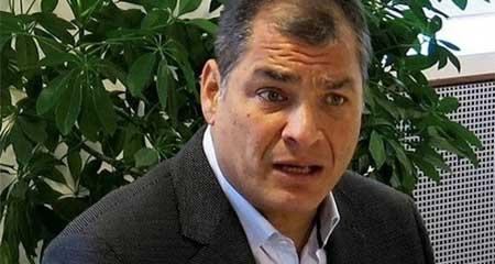 Piden prohibición de salida del país para Rafael Correa