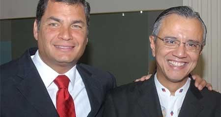 Alexis Mera dice que Correa no conocía del Poliducto Pascuales - Cuenca. Correa dice que sí conocía (Video)