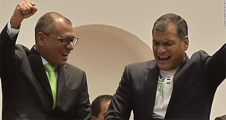 Jueces niegan pedido para que Rafael Correa testifique en caso de Jorge Glas - Odebrecht