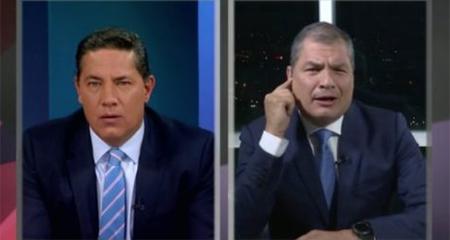 Los momentos más polémicos de la entrevista de Correa en CNN #ConcluCorrea (Video)