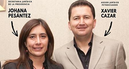 Xavier Cazar, esposo de la secretaria Jurídica de Lenin Moreno obtiene contrato por 160 mil dólares
