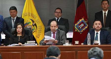 Vicepresidente Jorge Glas, su tío Ricardo Rivera y otros 3 procesados condenados a 6 años de prisión