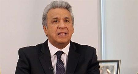 Lenin Moreno dice que está espeluznado con la corrupción galopante en el gobierno de Correa