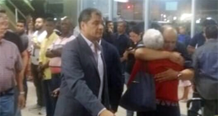 Como «misteriosa» describe medio panameño la visita de Correa a Panamá