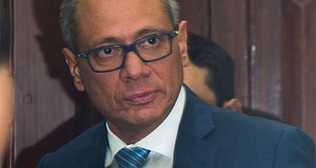 Vicepresidente sin funciones, Jorge Glas, recibirá bono navideño y sueldo, a pesar de estar preso